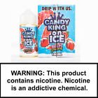 Candy King Regular, On Ice and Cookie - All Flavors - Authentic - Fast Shipping