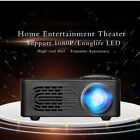 3D Full HD 1080P Mini Projector LED Multimedia Home Theater USB VGA HDMI TV AV k