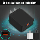 18W Fast Quick USB Charge 3.0 Wall Charger Plug For iPhone XS Max XR XS 8 7 Plus