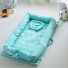 Portable Baby Nest Newborn Nursery Foldable Travel Bed with Bumper Cot Mattress