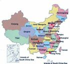 Latest China Map 2018 for Garmin GPSs