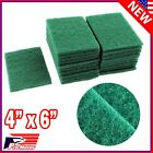 Lot 40pcs Scouring Pads Medium Duty Home Kitchen Auto Scour Scrub Cleaning Pad P