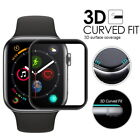 Apple Watch Seri 4 40 44MM Tempered Glass Screen Protector Shield FULL COVERAGE