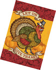 Toland Home Garden Let Us Give Thanks 28 x 40 Inch Decorative Thanksgiving Turke