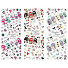 3Pc NAGELSTICKER Nail Art Tattoo Aufkleber  Mickey Minnie Mouse~ günstig