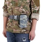 Tactical Military Outdoor Molle Waist Pack Belt Bag Pouch Camp Hiking Hunting US