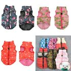 Pet Dog Puppy Soft Padded Vest Harness Puppy Warm Winter Clothes Coat Apparel
