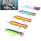 Fishing Lures Topwater Pencil Popper Casting Trolling Fish Crankbaits tackle@YC