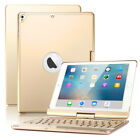 "Boriyuan Backlit Bluetooth Keyboard Case Cover For iPad 9.7"" 5/6th Air 2/1 Pro"