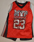 Baby Boy Tuff Guys Red & Black MVP All Star BBall 2 Pc. Outfit Sz 18 Months