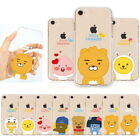 Kakao Little Friends Jelly Case for Apple iPhone XS Max/XR XS X / 8 8 Plus 7 6 5