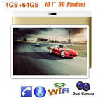 "10.1"" Inch Tablet PC Android 7.0 Quad Core 64GB HD WIFI 2 SIM 3G Phablet Gift"