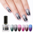 BORN PRETTY Thermal Color Changing Nail Polish 6ml Glitter Bling Nail Varnish