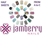 jamberry wraps half sheets * A to C * buy 3+ 15% off sale ~ see store 4 all 🎁