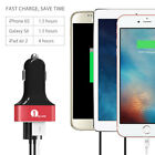 1Byone 3 USB Car Charger Adapter 7.2A Fast Charging Cigarette Lighter Socket