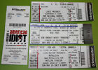 Music Concert Ticket Stub | Qty Available | You Pick