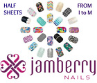 jamberry half sheets * I to M * buy 3+ get 15% off sale ~ see all in store  🎁