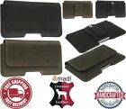 CLASSIC GENUINE LEATHER WAIST POUCH WITH BELT CLIP & LOOP CASE COVER FOR IPHONE