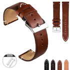 18 20 22mm Men's Genuine Leather Strap Quick Release Wrist Watch Band For Fossil image