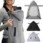 Внешний вид - Warm Wrap Sling Baby Carrier Windproof Baby Backpack Blanket Carrier Cloak Cover