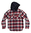 DC Shoes Runnels Shirt - Red - Boys Shirts