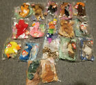 Huge lot of 17 Mcdonalds Beanie Babes - Unopened/Sealed - Rare find