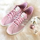 Bling Adidas Courtset Women's Shoes w/ Swarovski Crystals - Frost Pink Bedazzled
