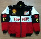 2019 FERRARI Red black Embroidery EXCLUSIVE JACKET suit F1 team racing