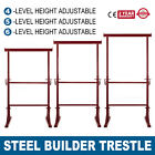 4/5/6 Level Height Adjustable Steel Builder Trestle Home Extendable Portable