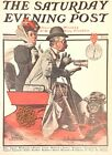 Norman Rockwell Art Print Saturday Evening Post LOYAL DOGS *** SEE VARIETY