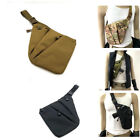 Tactical Chest Sling Bag Concealed Thin Spy Gun Holster Pouch Hunting Outdoor $13.89 USD on eBay