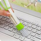 Car Vent Air-Condition Blind Cleaner Keyboard Duster Double Head Cleaning Brush