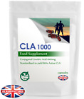 CLA 1000mg High Strength - 30/60/90/120/180 Capsules - Diet, Fat Loss Supplement