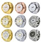 Classic Lover's Finger Ring Watches Creative Steel Cool Ring Watch Quartz Watch image