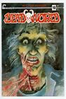 DEADWORLD #10 Variant Cover (1988; Caliber, The Crow Ad on back cover)