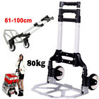 80Kg Multifunction Folding Truck Hand Sack Business Trolley Lauggage Barrow Cart