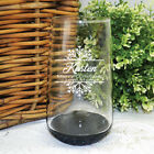 Personalised Christmas Glass Tumbler  - Made to Order