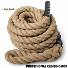 "1.5"" 2"" 30/40/50ft Poly Dacron Battle Rope Workout Training Strength Fitness"