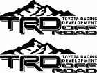 Toyota TRD Truck Mountain Off-Road Racing Tacoma Decal Vinyl Stickers IDENTICAL