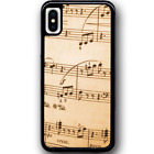 Phone Case Cover For iPhone XS - Old Music Y00629