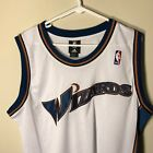 NEW NBA Adidas Authentic Washington Wizards Stitched Jersey Vintage 44 48 Blank