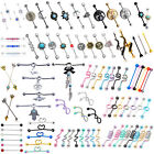 14g Surgical Steel Industrial Barbell Earring Cartilage Piercing Body Jewelry