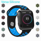 For Fitbit Versa Replacement Wristband Breathable Silicone Air Holes Watch Bands image