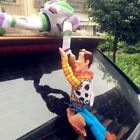 Buzz Sherif Woody Car Doll Door Window Toy Hanging Cowboy Decoration Gift Cute
