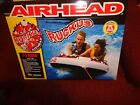 "NEW Airhead Ruckus 58"" 2-Person Towable Tube Inflatable Rider Water Sports Raft"