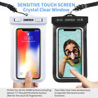 2x CHOETECH Universal Waterproof Case Cover Bag For Sansung galaxy iPhone