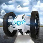 RC Bounce Car Jumping Toy Remote Control Spin Rotate LED Light 2.4GH