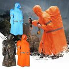 Backpack cover one-piece poncho raincoat Rain Cape for outdoor hiking Camping MA