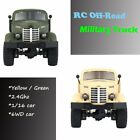 JJR/C Q60 1/16 2.4G 6WD RC Off-Road Military Truck Transporter RC Car Toy ZS