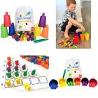 CC O PLAY Sort and Play - Sorting and Counting Toy for Kids - 72 Colorful Bears,